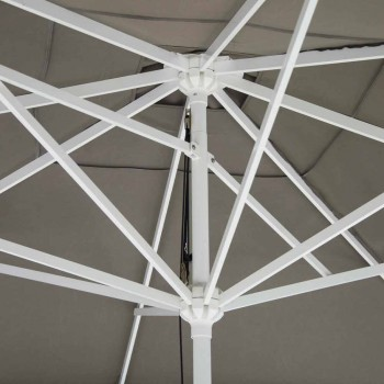 Çadër pëlhure në natyrë me strukturë metalike prodhuar në Itali - Solero