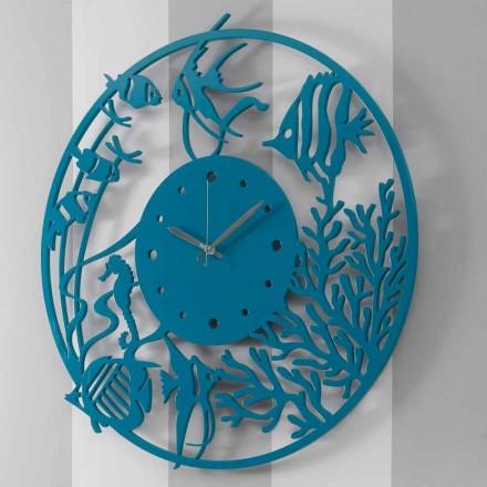 Ora e murit prej druri të rrumbullakët me ngjyra të mëdha moderne - Infondoalmar