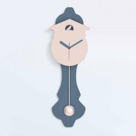 Ora moderne e lavjerrësit në dru të Dizajnit Grey dhe Rozë - Kukuri