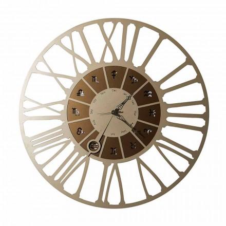 Prodhuar në Itali Orë me Muri me Dizajn të Hekurit me dy tone - Bricjapi