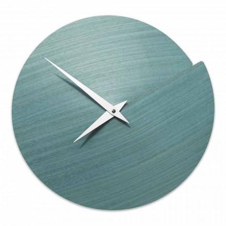 Ora e murit të modelit modern në dru natyral të bërë në Itali - Cratere