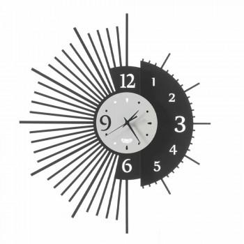 Dizajn elegant i orës së murit hekuri prodhuar në Itali - Aneto