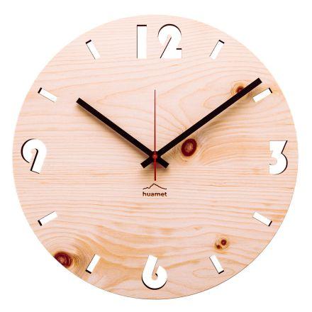 Ora muri në dru pishe zvicerane e bërë në Itali Andrea