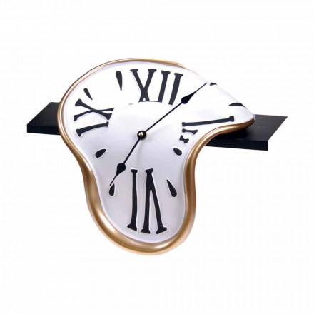 Ora e tryezës në rrëshirë e zbukuruar me dorë e prodhuar në Itali - Corin