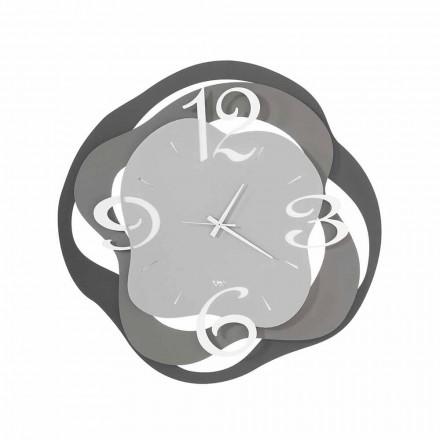 Ora e murit me dizajn modern në hekur të bërë në Itali - Gertrude