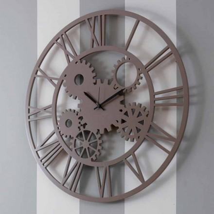 Ora me mure druri me ngjyra të mëdha dhe të rrumbullakëta - me mekanizëm