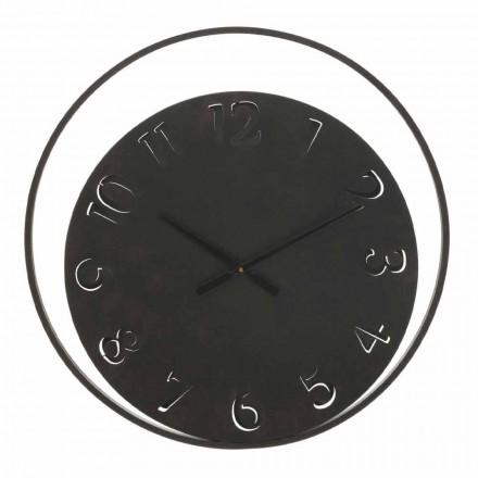 Diametri i orës së rrumbullakët në mur 60 cm Hekuri modern - Beatrix