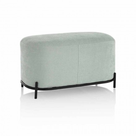 Stol për dhomën e ndenjes ose dhomën e gjumit në pëlhurë me dizajn modern - Ambrogia