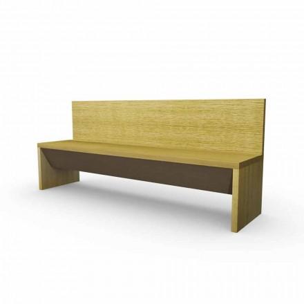 Stola moderne me enë në dru lisi, e bërë në Itali, Cassy