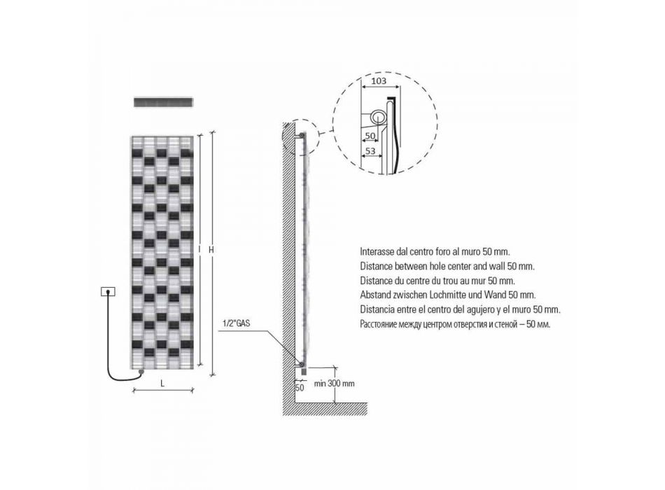 5 Pllaka Elektrike Rrezatuese Çeliku të Projektimit deri në 1000 Watt - Lumi