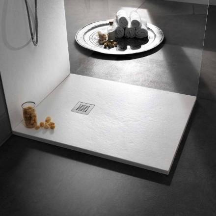 Sirtar Dushi me Dizajn Modern në Efekt guri rrëshire 100x70 - Domio