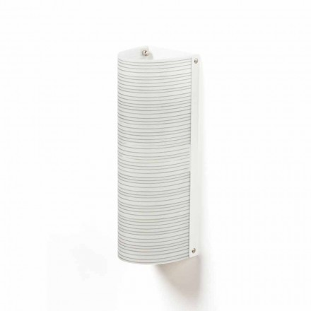 Dritë moderne prej 2 dritësh tavan Debby, e bërë nga polipropileni, 18x16 cm