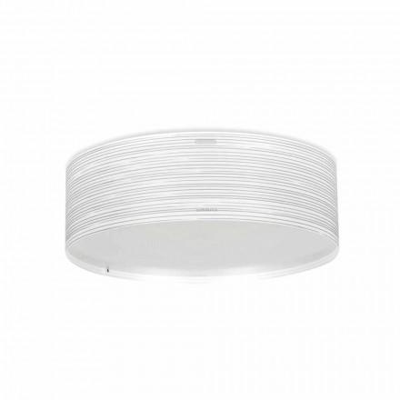 Dritë moderne 3-dritëshe tavan Debby, e bërë nga polipropileni, dietë 60 cm.