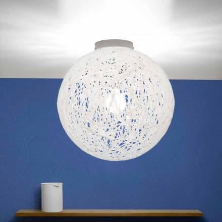 Llambë tavani me dizajn modern Mady, e bërë në Itali, me diametër 48 cm