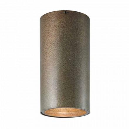 Dritë tavani i stilit industrial Girasoli Il Fanale, bërë në Itali