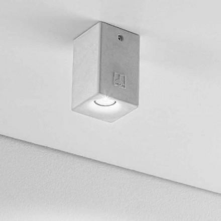 Formë moderne katrore dritë dritë LED tavan Nadir 2