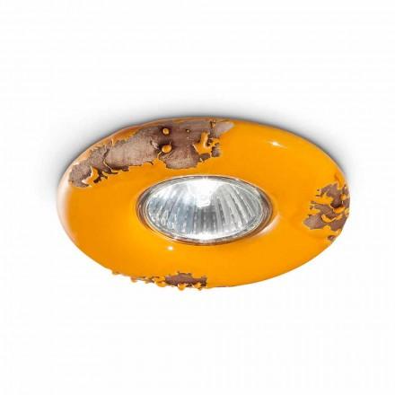 Llambë tavoline e rrumbullakët me qira qeramike Paula nga Ferroluce