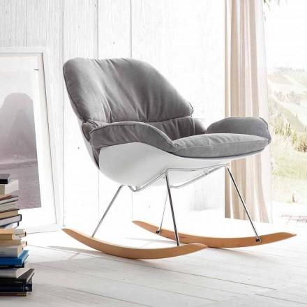 Karrige lëkundëse Acacia, dizajn modern