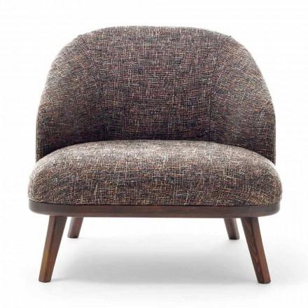 Karrige rri kot prej pëlhure me bazë druri të ngurtë prodhuar në Itali - Pepina