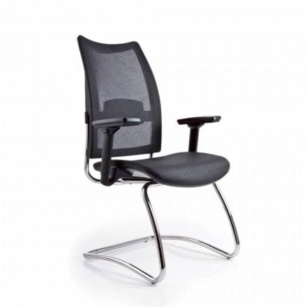 Karrige zyre ergonomike Overtime Luksoze me mbështetëse rrjetë dhe armatura