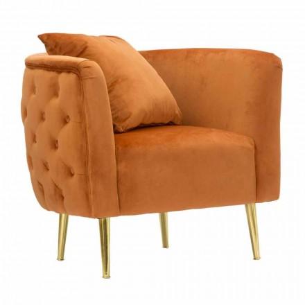 Kolltukë moderne për Lounge Design në Velvet, Dru dhe Hekuri - Ruthie