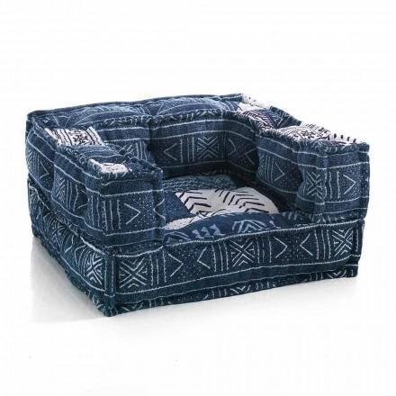Kolltukë Etnike për Lounge në pëlhurë lara-lara ose kadife - Fibër