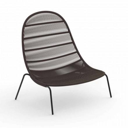 Karrige për Lounge Garden në alumin dhe pëlhurë - Panama nga Talenti