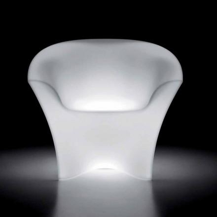 Kolltuk i ndritshëm në natyrë në polietileni me dritë LED prodhuar në Itali - Conda