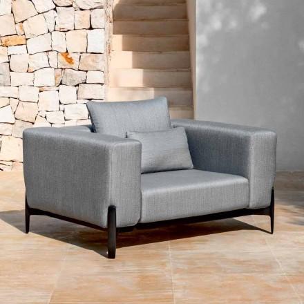Relax Garden Alumini dhe Pëlhurë Kolltuku, Dizajn në 3 Përfundime - Filomena