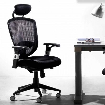 Karrige e zezë rrotulluese drejtuese dhe operacionale moderne e zezë - Simona