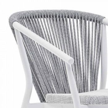 Alumini dhe pëlhura të kolltukut të kopshtit të Stackable - Smart By Varaschin