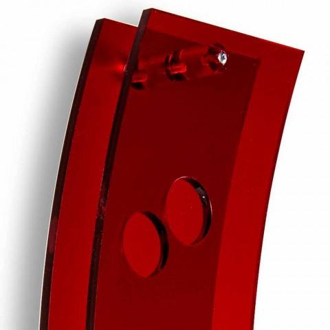 Ngjyrosje afishe muri L26,5xH100xP9cm Seriale të kuqe