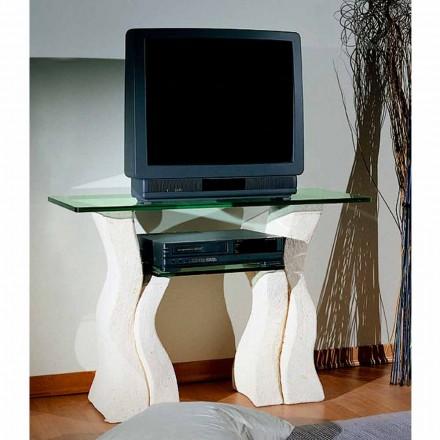 Tabela TV Made in Italy e bërë nga Vicenza guri natyror dhe kristali Khloe