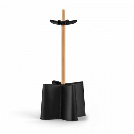 Qëndroni ombrellën Nurri, e bërë me dru ahu dhe polipropileni