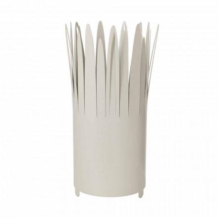 Stenda ombrellë e Dizajnit Modern në Hekuri me rroje të prodhuar në Itali - Fuoco