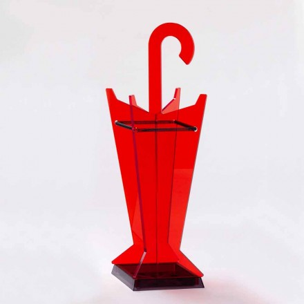 Qëndroni ombrellën ombrellë të dizajnit në metakrilat me ngjyra Made në Itali - Babi