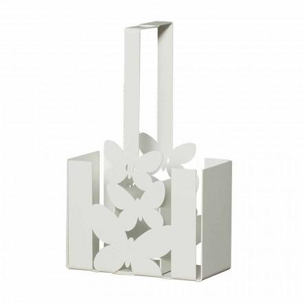 Mbajtëse moderne e takëmave të tavolinave në hekur, të bëra me dorë, të prodhuar në Itali - Laida