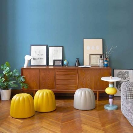 Pufë e butë me ngjyra në poliuretani Slide Gelee, prodhuar në Itali