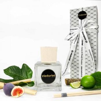 Bamboo Lime Fragrance Home freskues i ajrit 500 ml me shkopinj - Ariadicapri