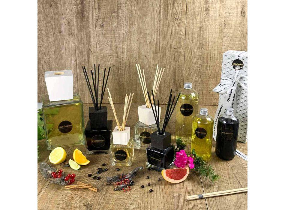 Freskues Bergamot Fragrance Home Air 500 ml me shkopinj - Ladolcesicilia