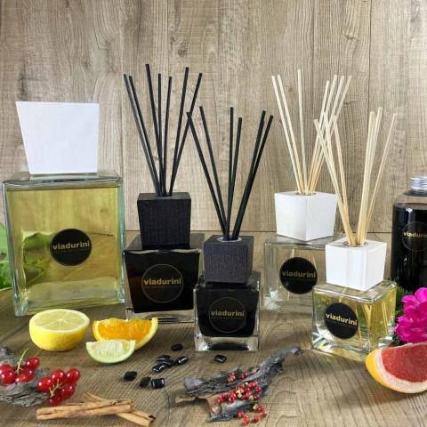 Rosa Marittima Home Fragrance 500 ml me shkopinj - Rosadiamalfi