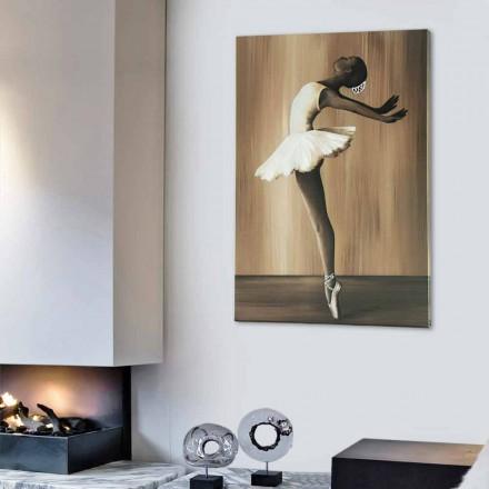 Baleti i pikturës dekorative nga Viadurini Decor e bërë në Itali
