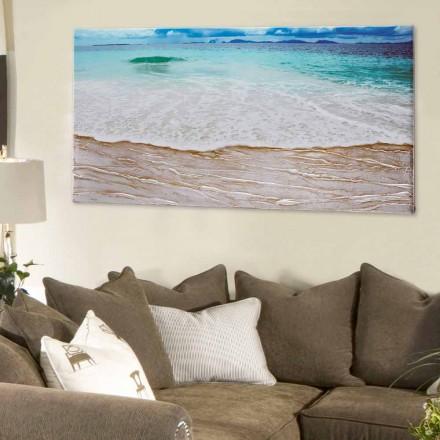 Plazhi i pikturës dekorative nga Viadurini Decor e bërë në Itali