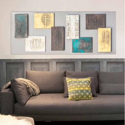 Pikturë kanavacë moderne pikturë Andrew, me 8 elementë