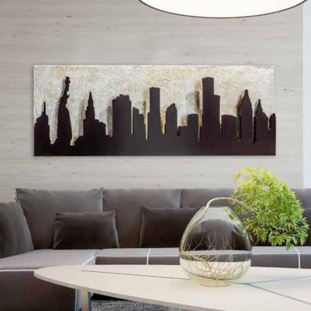 Piktura e ngulitur në kanavacë Donald, riprodhimi i Manhattan