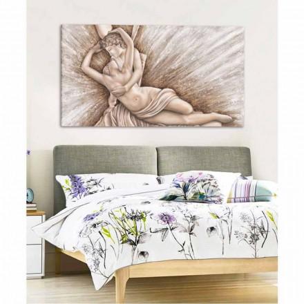 Psikika e ringjallur nga Cupid's Kiss pikturë në kanavacë Aurora e bërë në Itali