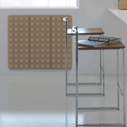 Dizajni bashkëkohor radiator me ujë të nxehtë Tullë nga Scirocco H