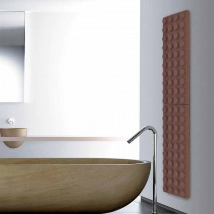 Designer radiator elektrik me tulla lego Tulla e bërë në Itali Scirocco H