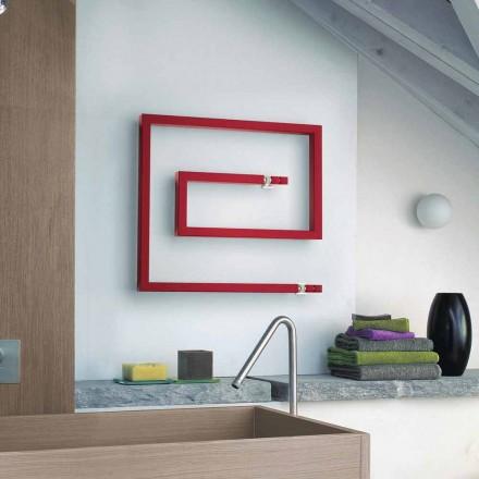 Dizajni modern radiator me ujë të nxehtë Snake bërë në Itali nga Scirocco H