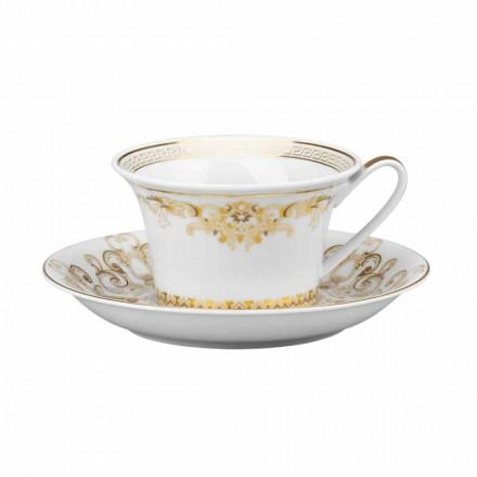 Rosenthal Versace Medusa Gala Design filxhan çaji prej porcelani